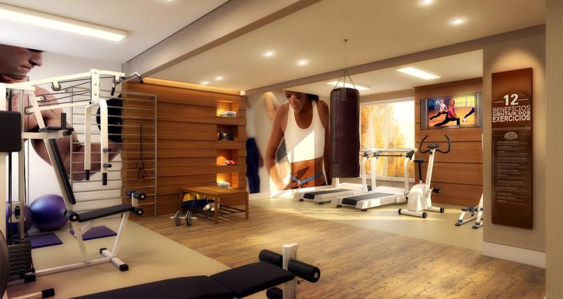 Atividades físicas e recreação no próprio condomínio