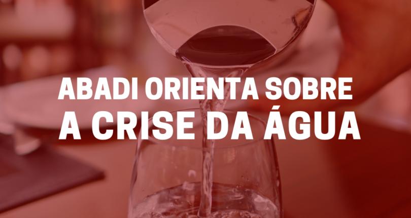 ABADI orienta síndicos e condomínios sobre a crise da água no Rio