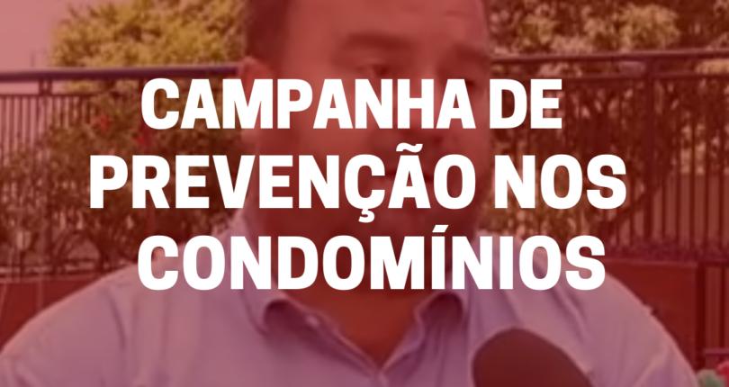 Irigon lança campanha de prevenção ao coronavírus nos condomínios